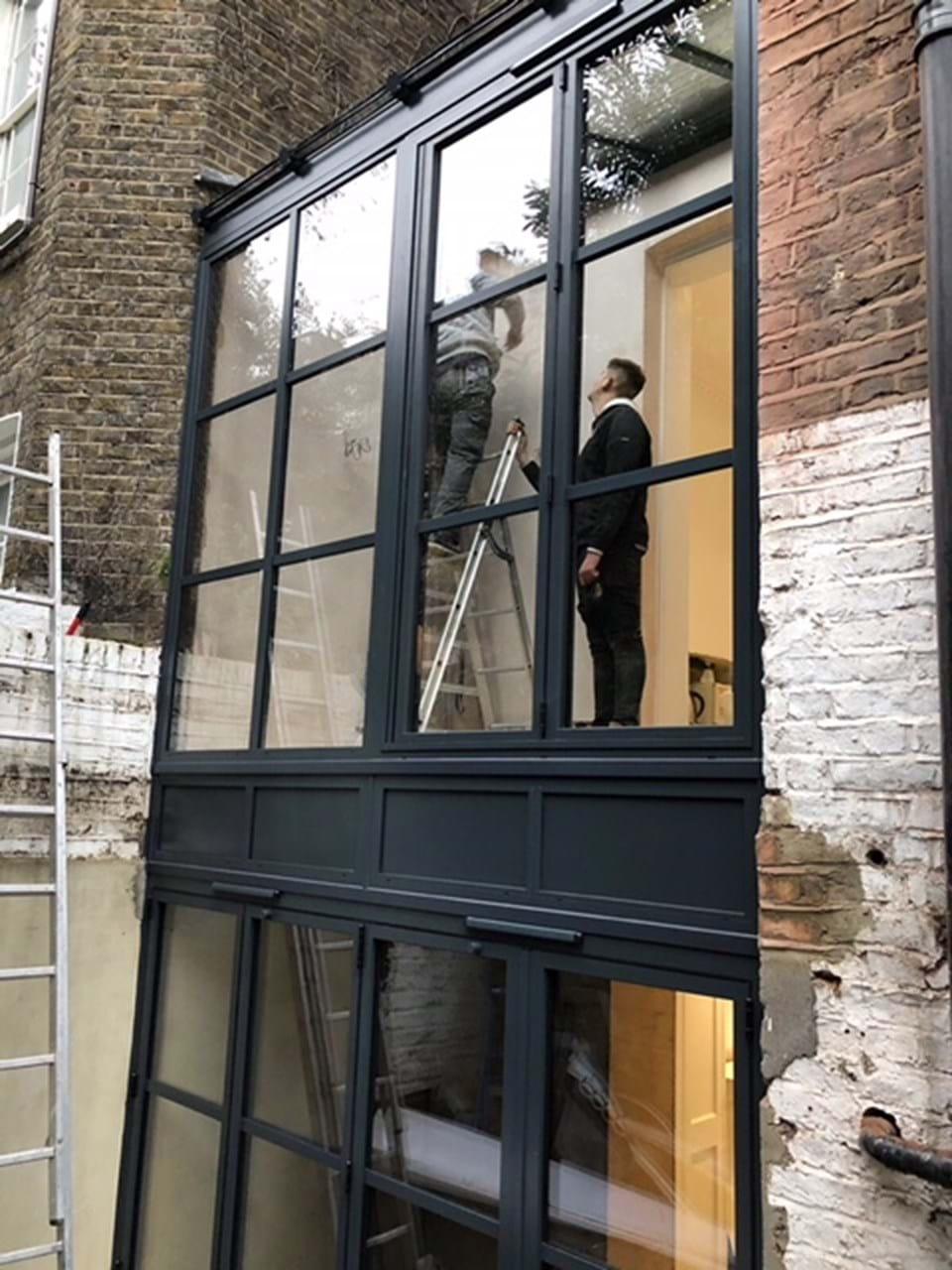Chelsea London Aluminium Bi Fold Doors Fixed Windows Lean