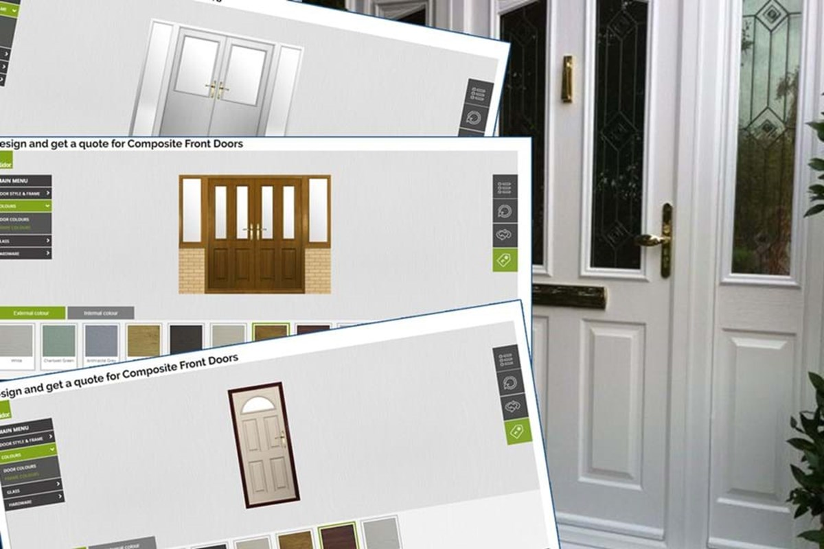 Design and get a quote for Composite Front Doors