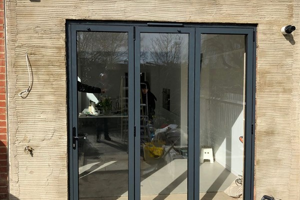 Forest Hill, London - Aluminium Bi-folds, Aluminium Window