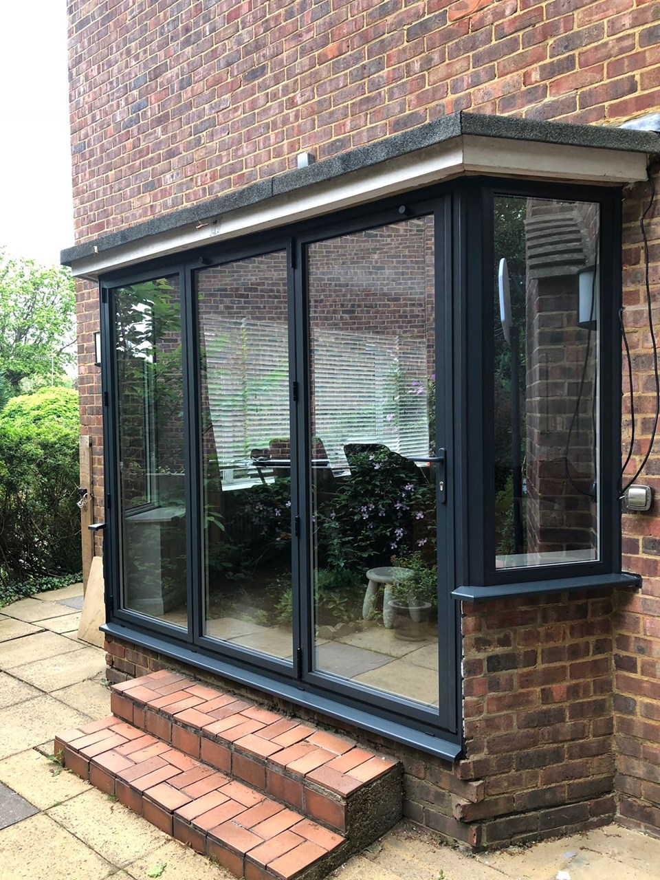 Aluminium Bi Fold Bay Doors Thames Windows Doors Ltd