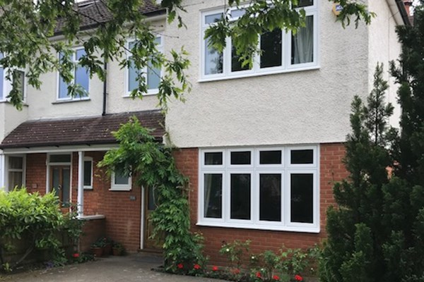 Teddington, Greater London - Flush UPVC Windows