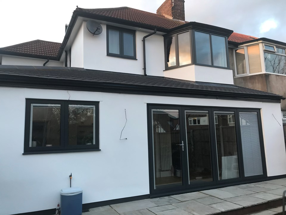Twickenham, London - Panoramic Doors, Integral Blinds, Aluminium Windows